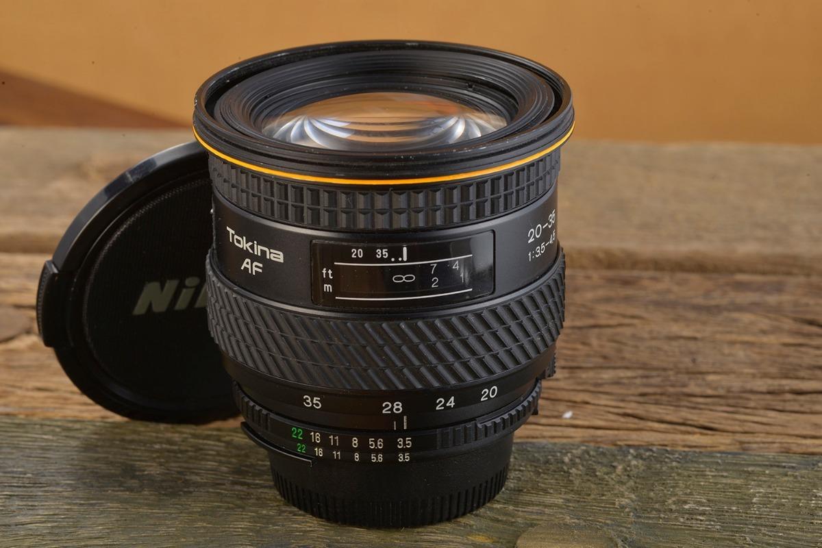 Lente Zoom Grande Angular Tokina Nikon Af 20-35mm 3 5/4 5