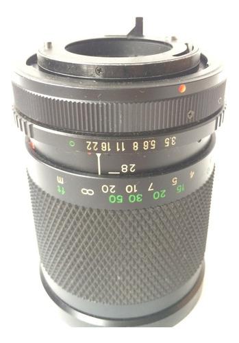 lente zoom rokinon 28 - 80mm
