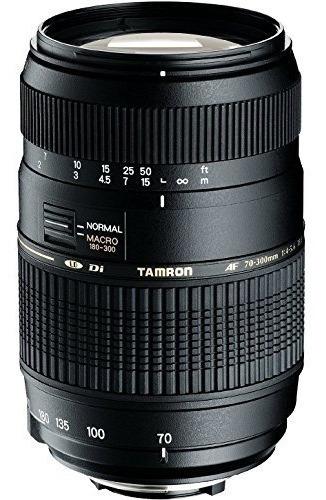 lente zoom tamron foco automático 70-300mm f/4.0-5.6 p/nikon