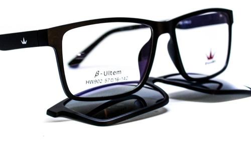 lentes 2 en 1 ópticos + clip thomas para sol elven mx