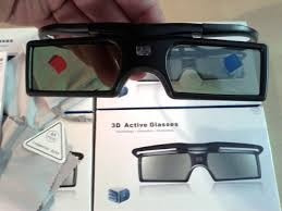 lentes 3d dlp link activos para projectores