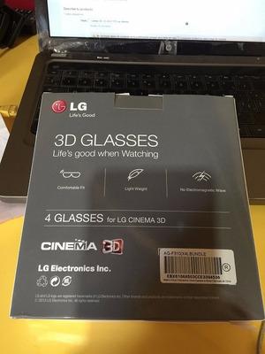 lentes 3d  lg ag-f310 son 4 lentes