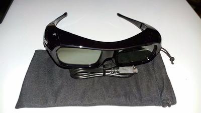 lentes 3d sony tdg-br200 gafas 3d activas recargables