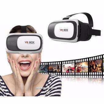 lentes 3d vr box 6.0 visor de realidad virtual
