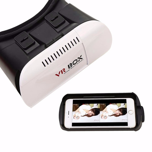 lentes 3d vr box virtual + control joystick bluetooth