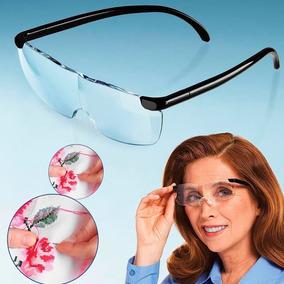 be9d2cfe7e3a1 Gafas Big Vision Tipo Lupa 160% De Aumento Costura + Envío