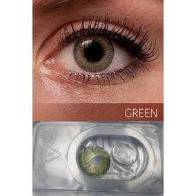 7685fdb513 Lentes De Contacto Color Verde Cosmético A La Moda. Bs. 30.000