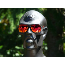Oakley Deviation Polished Black W/ruby Iridium (004061-04)