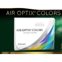 Lentes De Contacto Cosméticos Air Optix Colors 100% Oxigeno