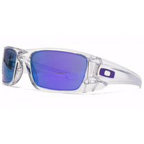 Lentes Oakley Fuel Cell Polished Clear Violet Iridium Nuevos