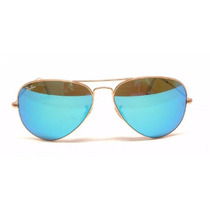 Ray Ban Aviator Tornasol Azul/blue Flash Lenses
