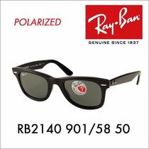 Lentes Rayban Wayfarer 2140 Medium, Large Polarizado