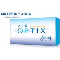 Lentes De Contacto Air Optix Aqua Caja X 6 Unidades