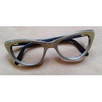 Lentes Vintage, Cat Eye 1960, Alemania, Gafas Gato, Retro