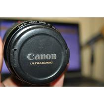 Lente Canon 80-200mm Ultrasonic Camara Full Frame
