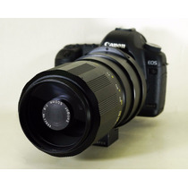 Lente Canon 500mm M42 Teleobjetivo Soligor Joya Japón 1965
