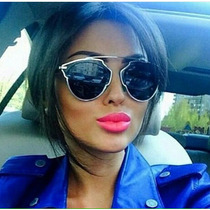 Lentes De Sol Gafas Mujer Moda Accesorios Anteojos Bisuteria