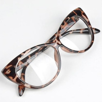 Lentes Animal Print Vintage Dama Retro Cats