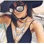 Lentes De Sol Gafas Mujer Moda Accesorios Bisuteria Anteojos