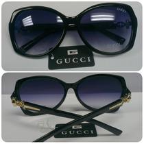 Lentes De Sol Gucci Moda Dama Estuche Y Paño
