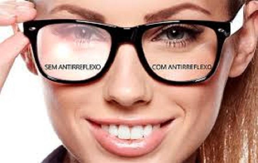 fc7f4d88bd4e5 Lentes Acrílica Com Grau Anti-reflexo - R  55,00 em Mercado Livre