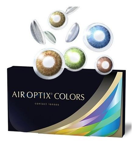 lentes - air optix colors (com ou sem grau) - frete grátis