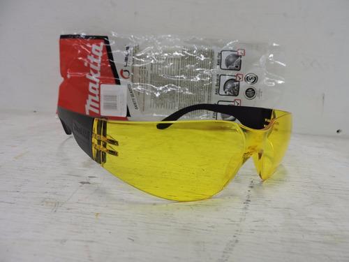 lentes amarillos de seguridad makita t-02543