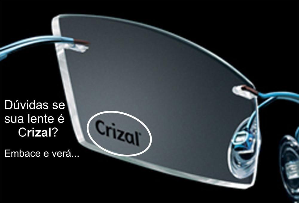 Lentes Anti Reflexo Crizal Forte + Brinde - R  459,00 em Mercado Livre 635dfe3df3