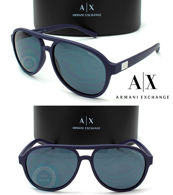 520692a5f7f8f Lentes Armani Exchange Ax4055s Matte Navy - Grey Gafas Nuevo ...