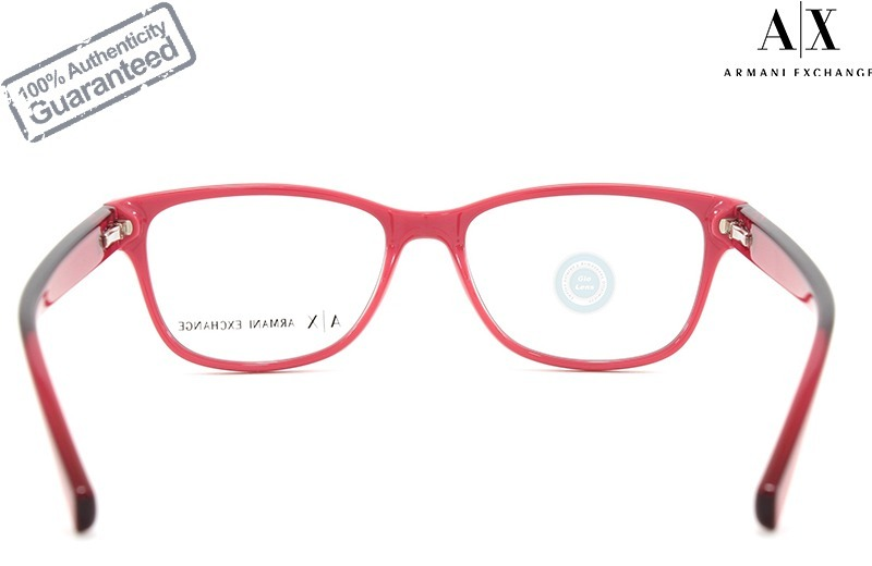 9bc6a6e44a lentes armani exchange oftalmico 3041 8214 pink black mujer. Cargando zoom.