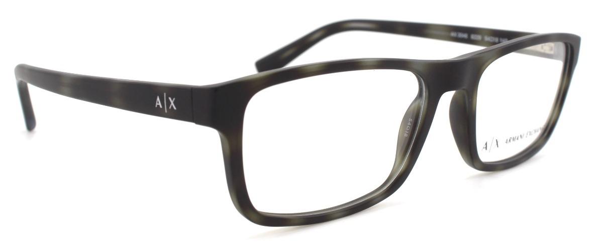 f5adfc794b lentes armani exchange oftalmico 3046 8229 matte grey havana. Cargando zoom.