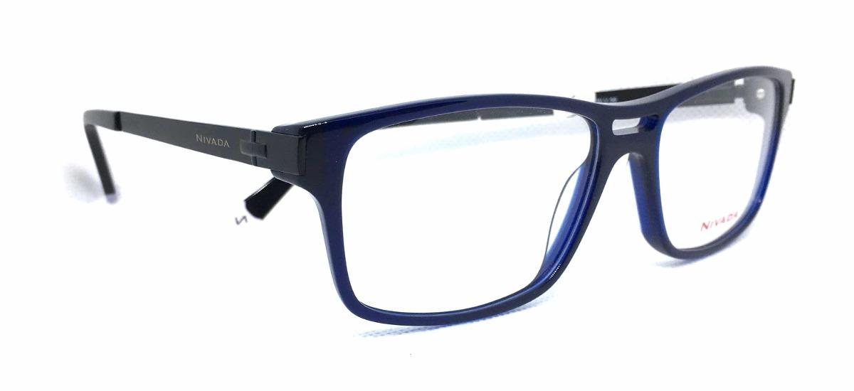 b82ffe2fdc lentes armazón nivada graduable acetato/metal azul/negro. Cargando zoom.