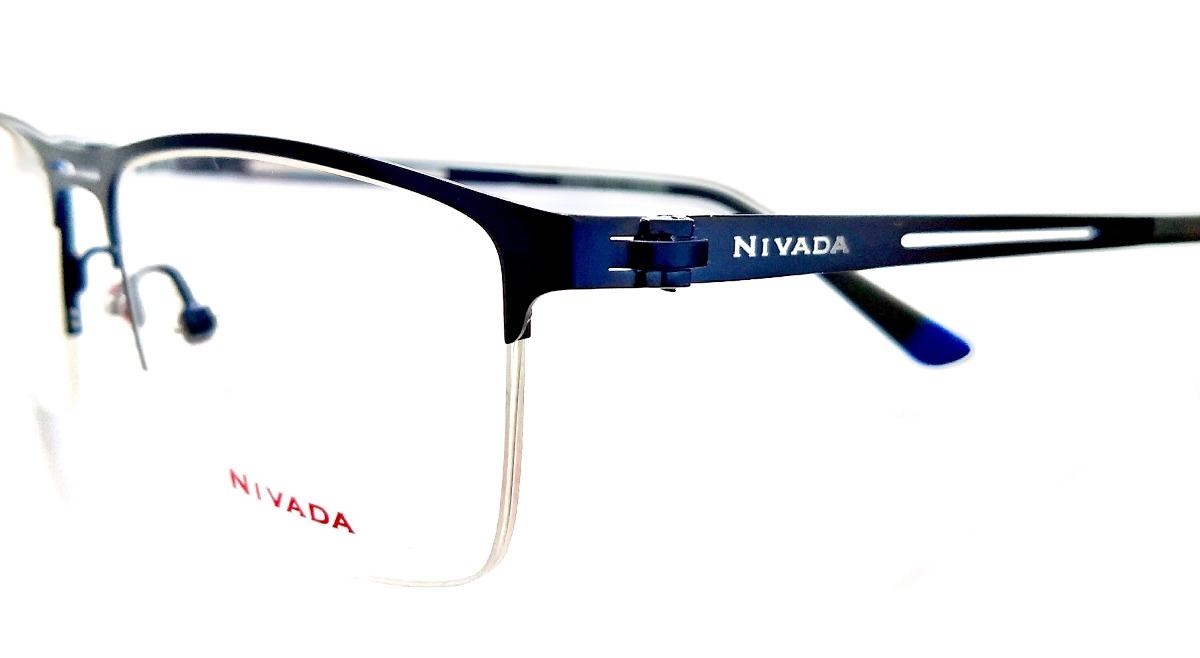 5bd3c99506 Lentes Armazón Nivada Graduable Azul Metal, Ranurado - $ 1,800.00 en ...