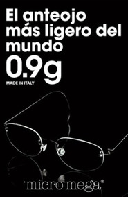7ea1774272 Lentes Micromega De Oro en Mercado Libre México