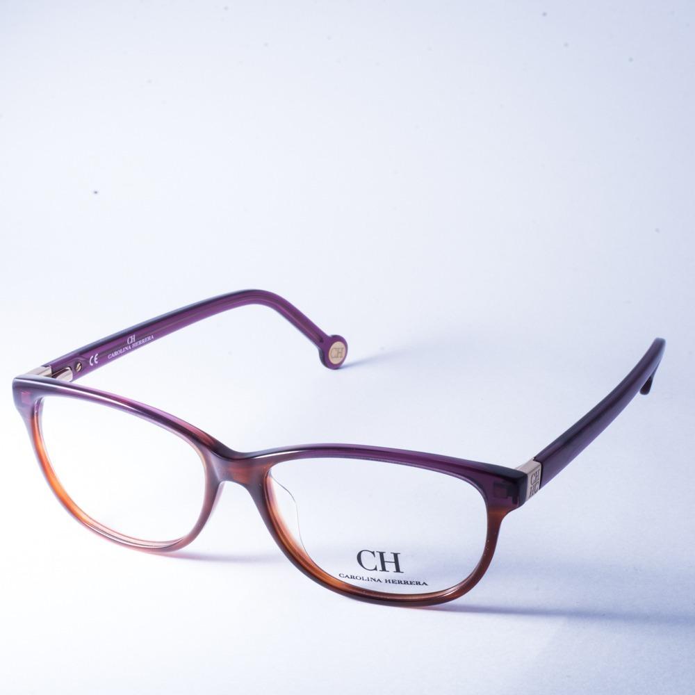eefc1b461d lentes armazon oftalmico original morado carolina herrera. Cargando zoom.