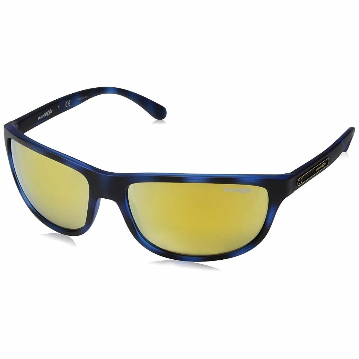 95777001c3 Lentes Arnette Grip Tape Matte Blue Havana / Mirror Yellow ...