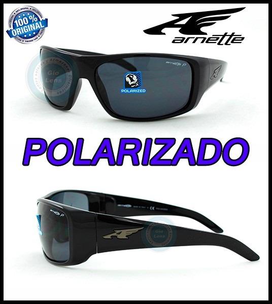 nueva estilos 34297 45581 Lentes Arnette La Pistola Polarizado 4179-41-81 Black Nuevos
