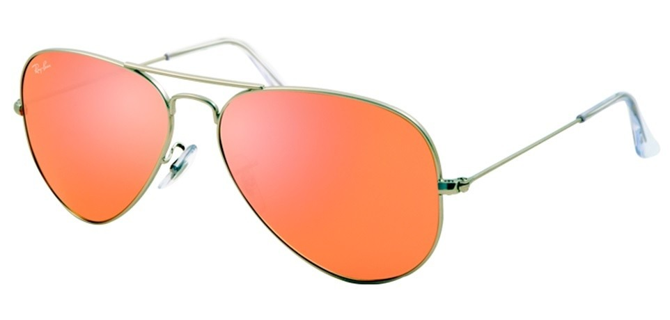 lentes aviador espejo rosa ray ban 1 en mercado