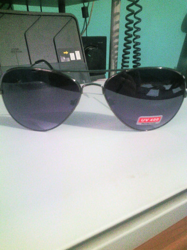 lentes aviador  negros