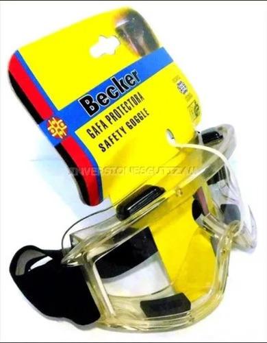 lentes becker gafas protección industrial seguridad moto