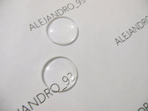 lentes biconvexos 25m f- 45mm google cardboard 100 unidades