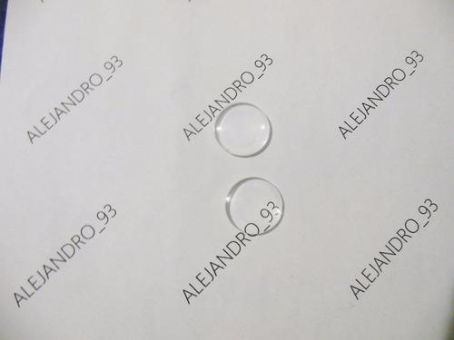 lentes biconvexos 25m f- 45mm google cardboard 10000 unidade