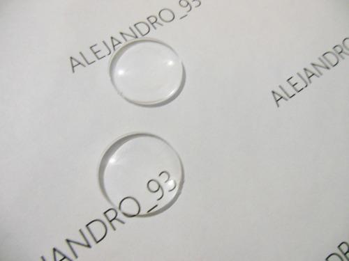 lentes biconvexos 25m f- 45mm google cardboard 4000 unidades
