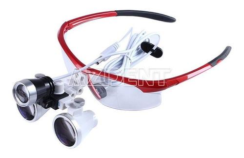 lentes binoculares d aumento lupas quirurgicas dentales 3.5x
