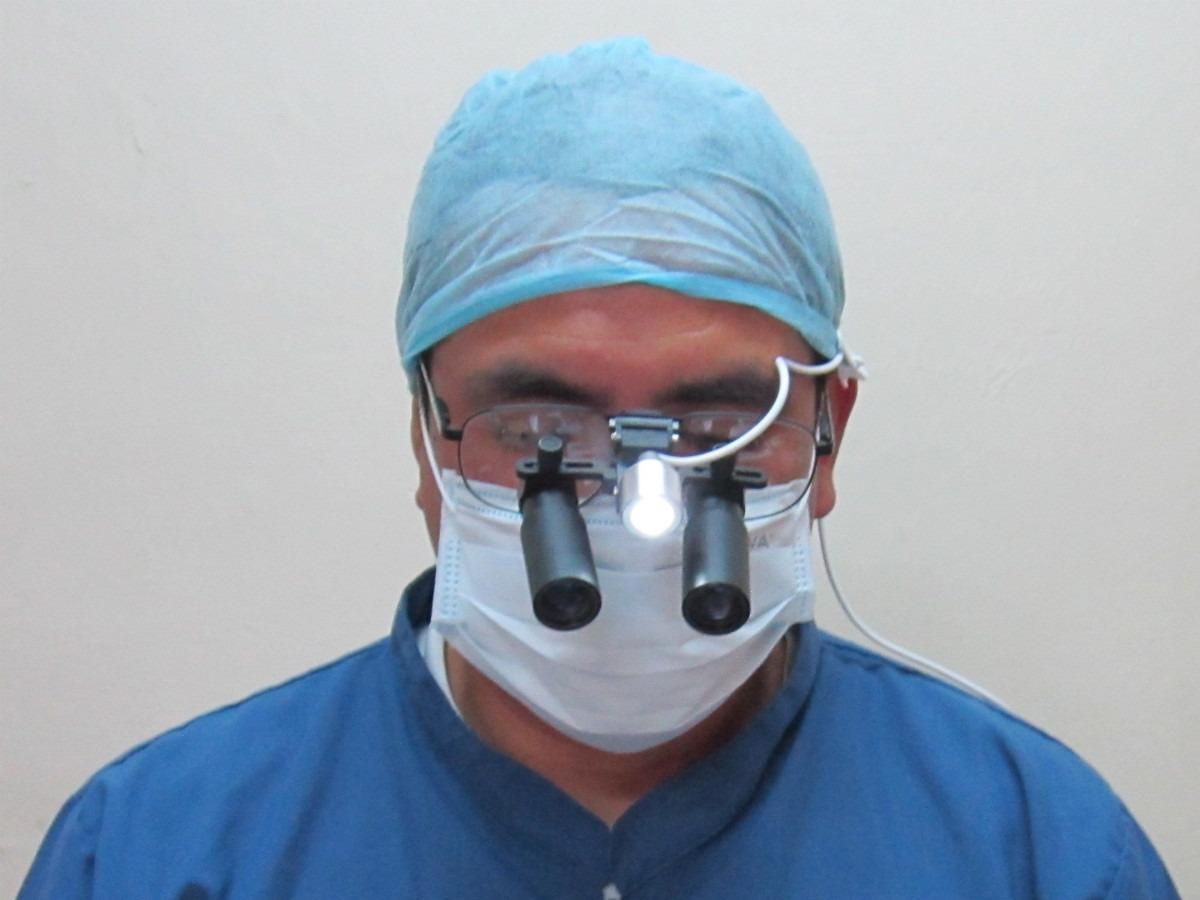 04b3487b677bf Lentes Binoculares De Aumento Lupas Quirurgicas Dentales 6x - S  780 ...