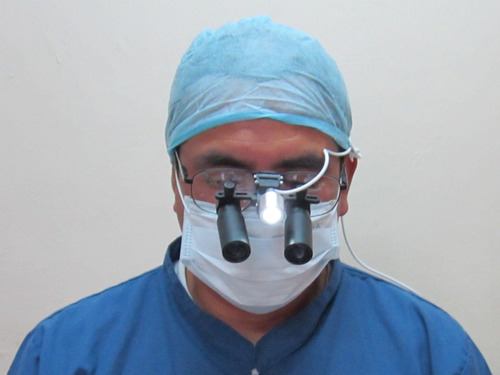 lentes binoculares de aumento lupas quirurgicas dentales 6x