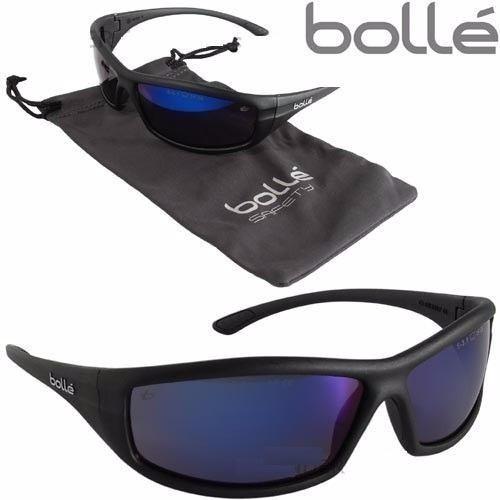 lentes bolle solis ii 100% originales en azul o negro