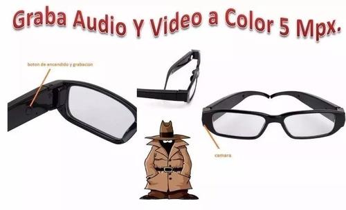 lentes camara espia audio video