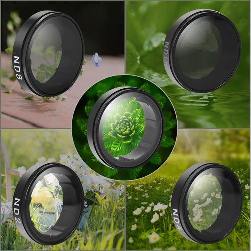 lentes camara filtro