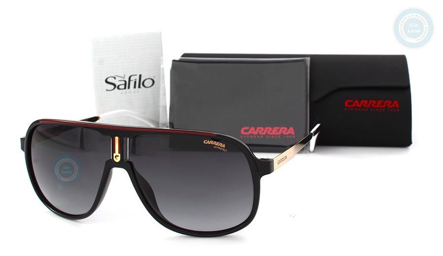 db190d4554 Lentes Carrera 1007s 807 Black Gold - Grey Gradient Original ...